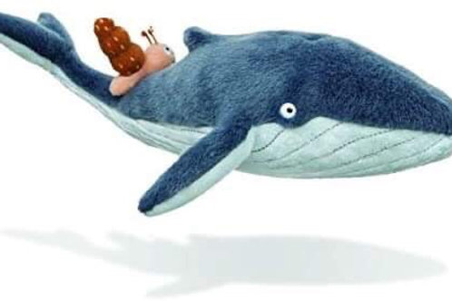 Book Characters and Toys - The Snail and The Whale
