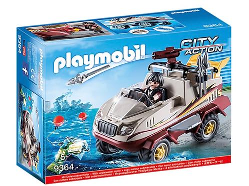 Amphibious vehicle toy playmobil
