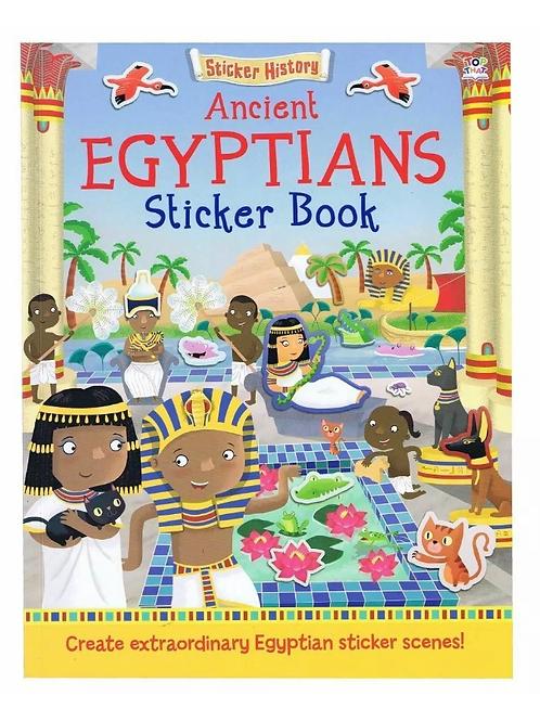Egyptians sticker book