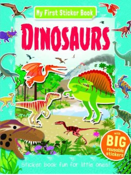 My first dinosaur sticker book
