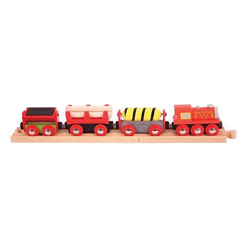Bigjigs wooden supplies toy train