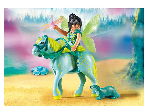 Playmobil fairy toy horse seal
