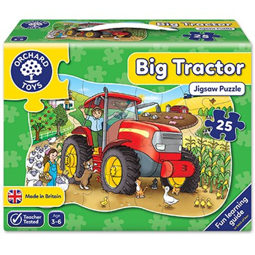 Orchard - Big tractor jigsaw