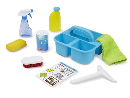 Cleaning caddy toy