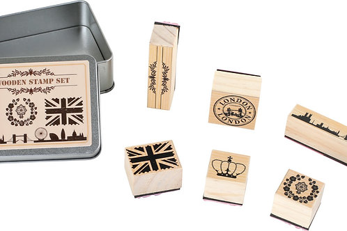 Smallfoot - Wooden stamp set London