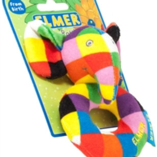 Baby Items - Elmer ring rattle