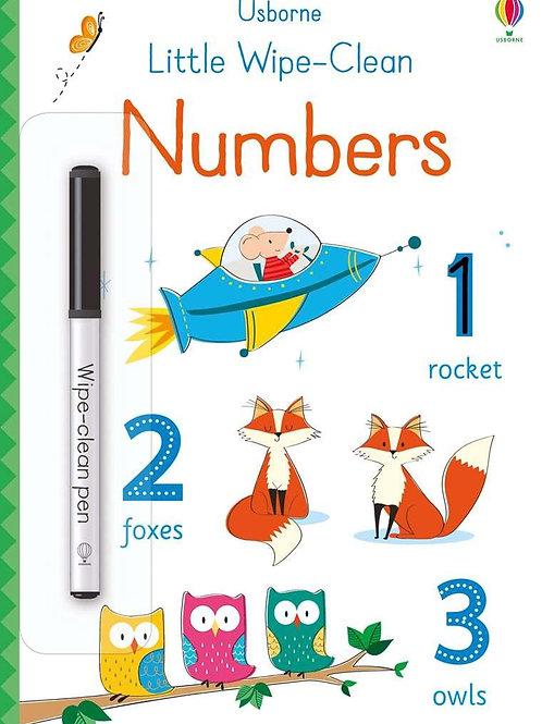 Usborne - Little wipe & clean numbers