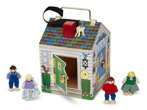 Melissa & Doug-Door bell house