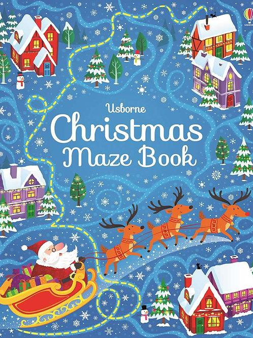 Usborne - Christmas maze book