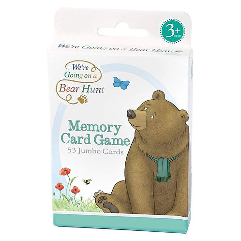 Book Characters and Toys - We're Going on a Bear Hunt Memory Card Game