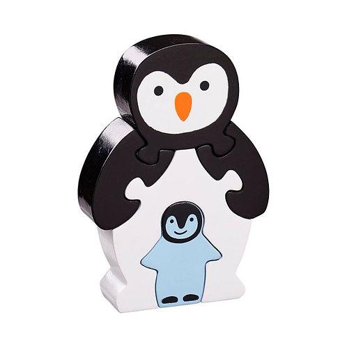 Lanka kade wooden jigsaw penguin