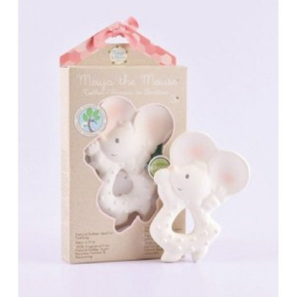 Tikiri baby natural rubber mouse toy teether