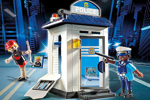 Playmobil - Starter pack police station