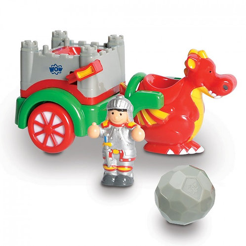 Wow toy dragon tale carriage