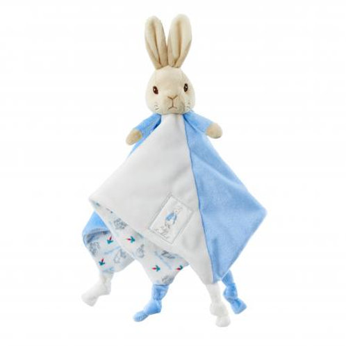 peter rabbit baby comfort blanket