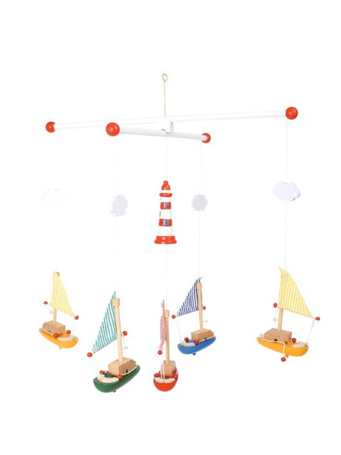 Smallfoot - Sailboat and lighthouse Mobile