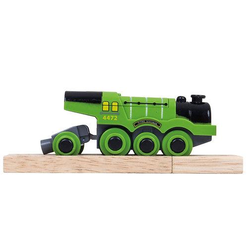 Bigjigs flying scotsman battery toy engine train