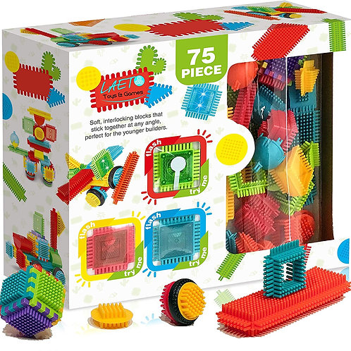 Cacto Cubes - Interlocking with lights 75 pc