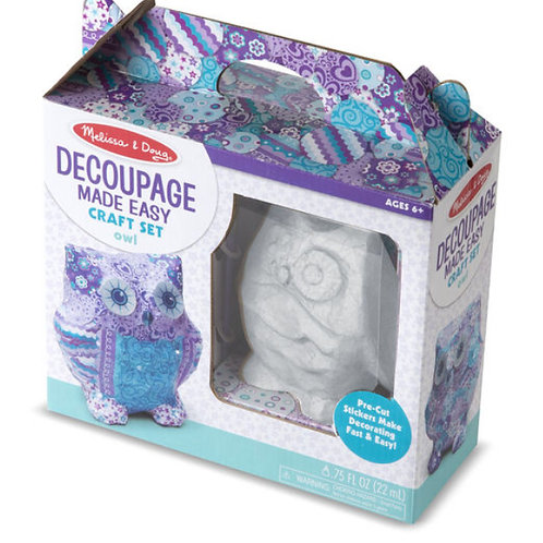 Melissa Craft - Decoupage Owl