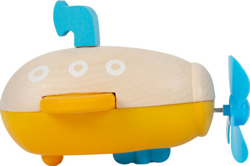 Smallfoot - Water toy wind-up submarine