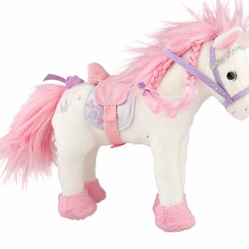 Princess mimi pink and white pony plush