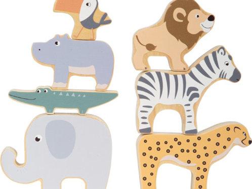"Smallfoot - Stacking animals ""Safari"""