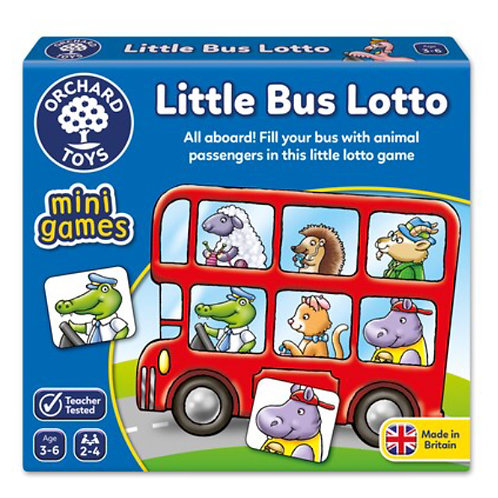Orchard Mini game - Little bus lotto