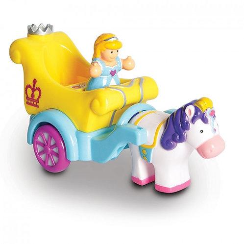 Wow princess parade carriage toy
