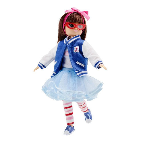 Lottie doll toy rockabilly varsity
