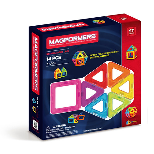 Magformers toy magnetic block 14 shaoes