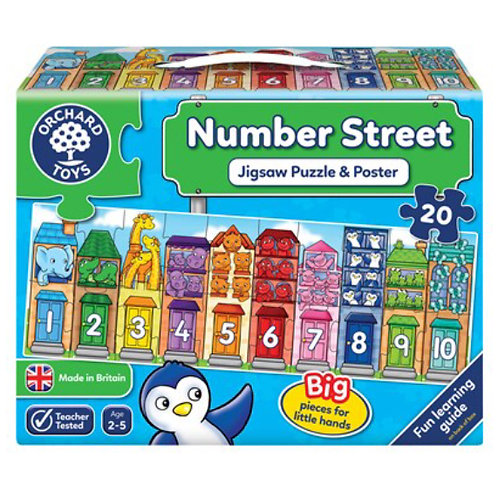 Orchard Jigsaw - Number street