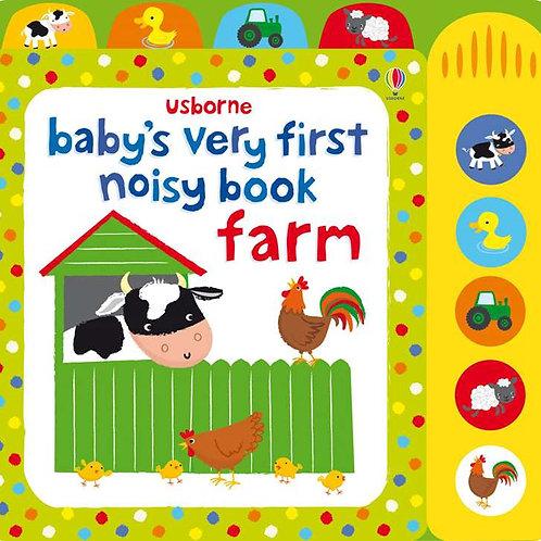 Usborne - Baby's very first noisy farm book