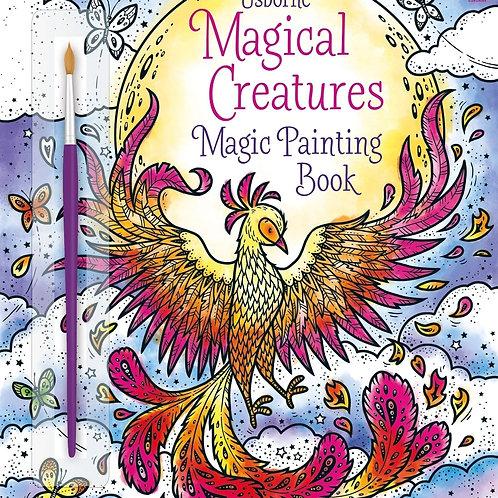 Usborne - Magical creatures magic painting book