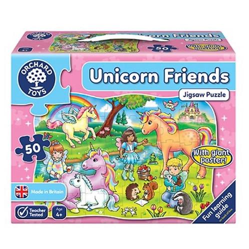 Unicorn jigsaw pink 50 piece orchard