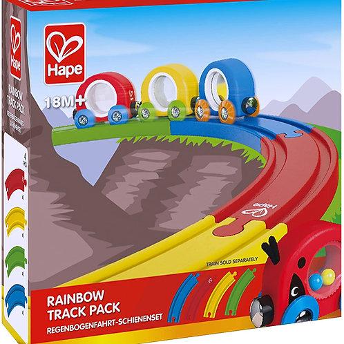 Hape - Rainbow track pack