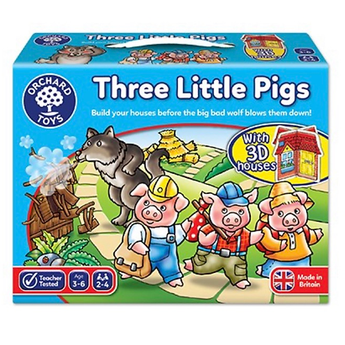 Three little pigs game orchard