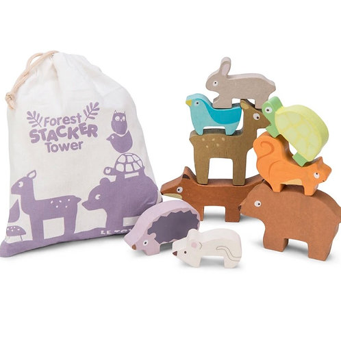 Le toy van - Forrest stacking animals