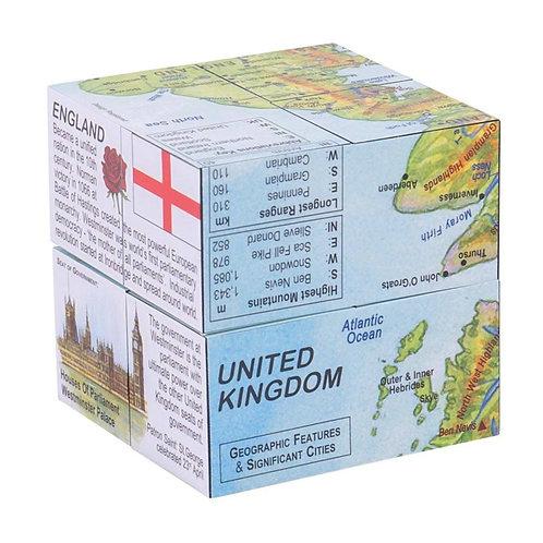Bigjigs learning cube book uk map
