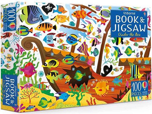 Usborne - Jigsaw & book under the sea