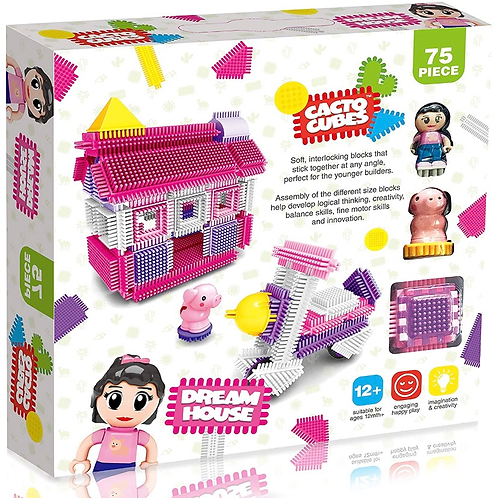 Cacto Cubes - Dream house 75 pc
