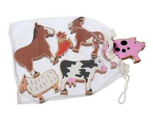 Lanka Kade - Farm animals Bag of 6