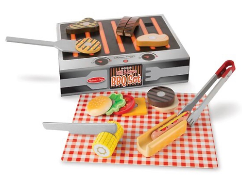 Pretend play BBQ set