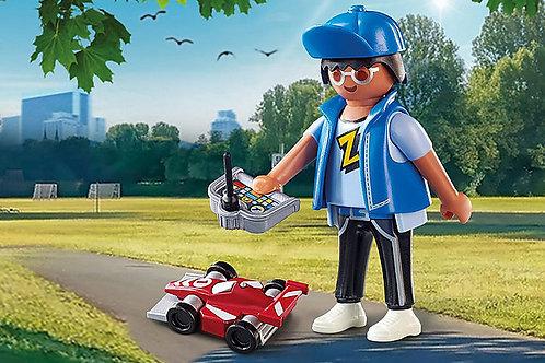 Playmobil - Boy with RC car