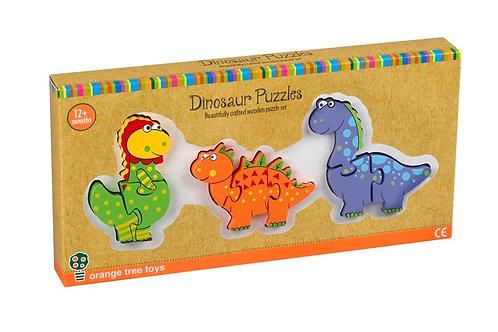 Orange Tree - Dinosaurs Mini Puzzle Set
