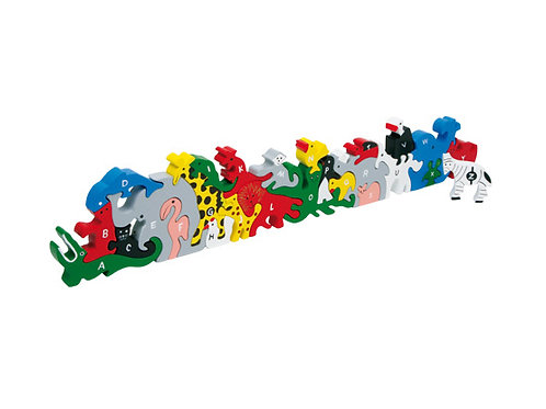 Small Foot Puzzles - Animal letters and numbers puzzle
