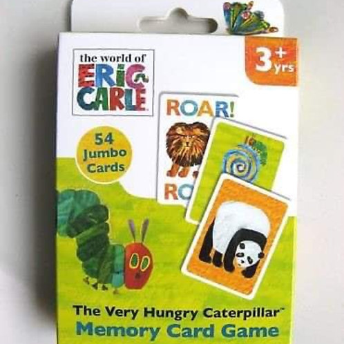 Book Characters and Toys - The Very Hungry Caterpillar Memory Game