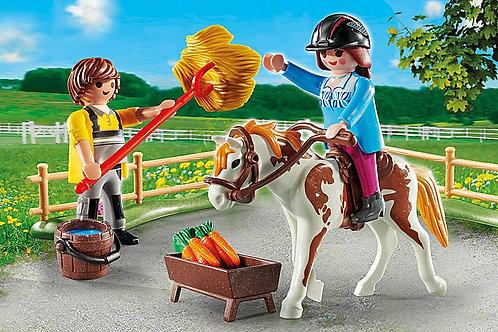 Playmobil - Starter pack horseback riding