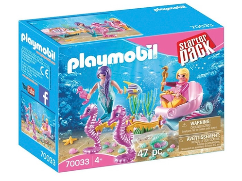 Seahorse carriage toy playmobil