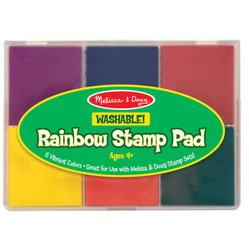 Melissa - Rainbow Stamp pad