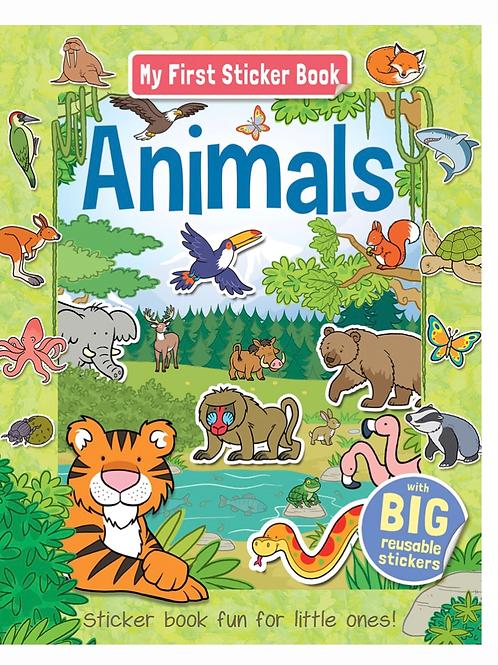 My first animals sticker book